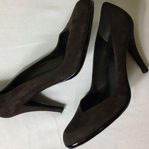 Stuart Weitzman Suede Leather High Heel Shoes